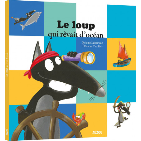 Figurine individuelle Loup - Dimanche